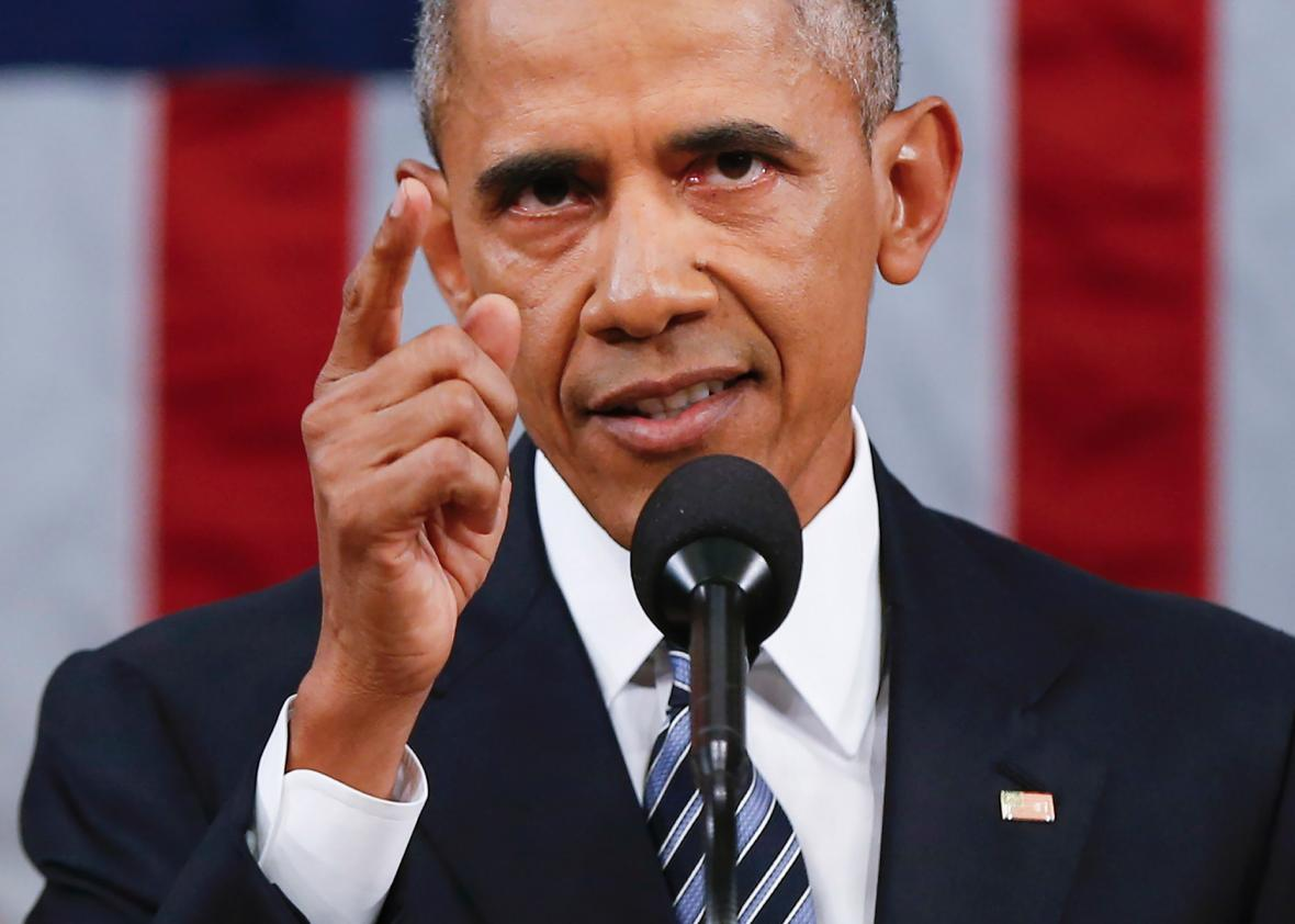 President Barack Obama gives final State of the Union Address