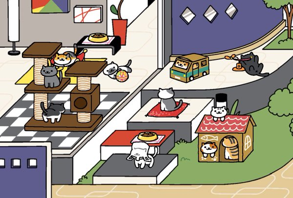 Neko Atsume: the purrfect game