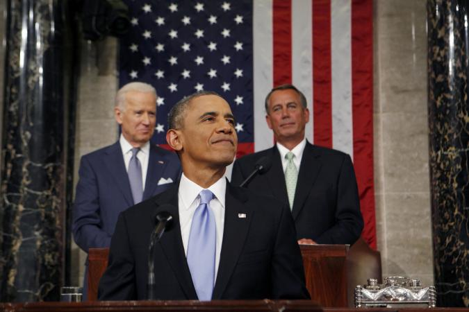 President Obama's State of the Union address urges hope and unity for Americans