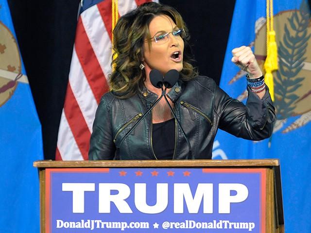 Sarah Palin supports Trump