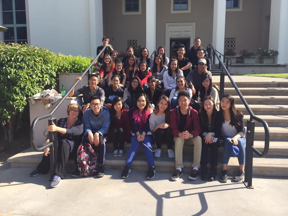 Students visit three Claremont colleges