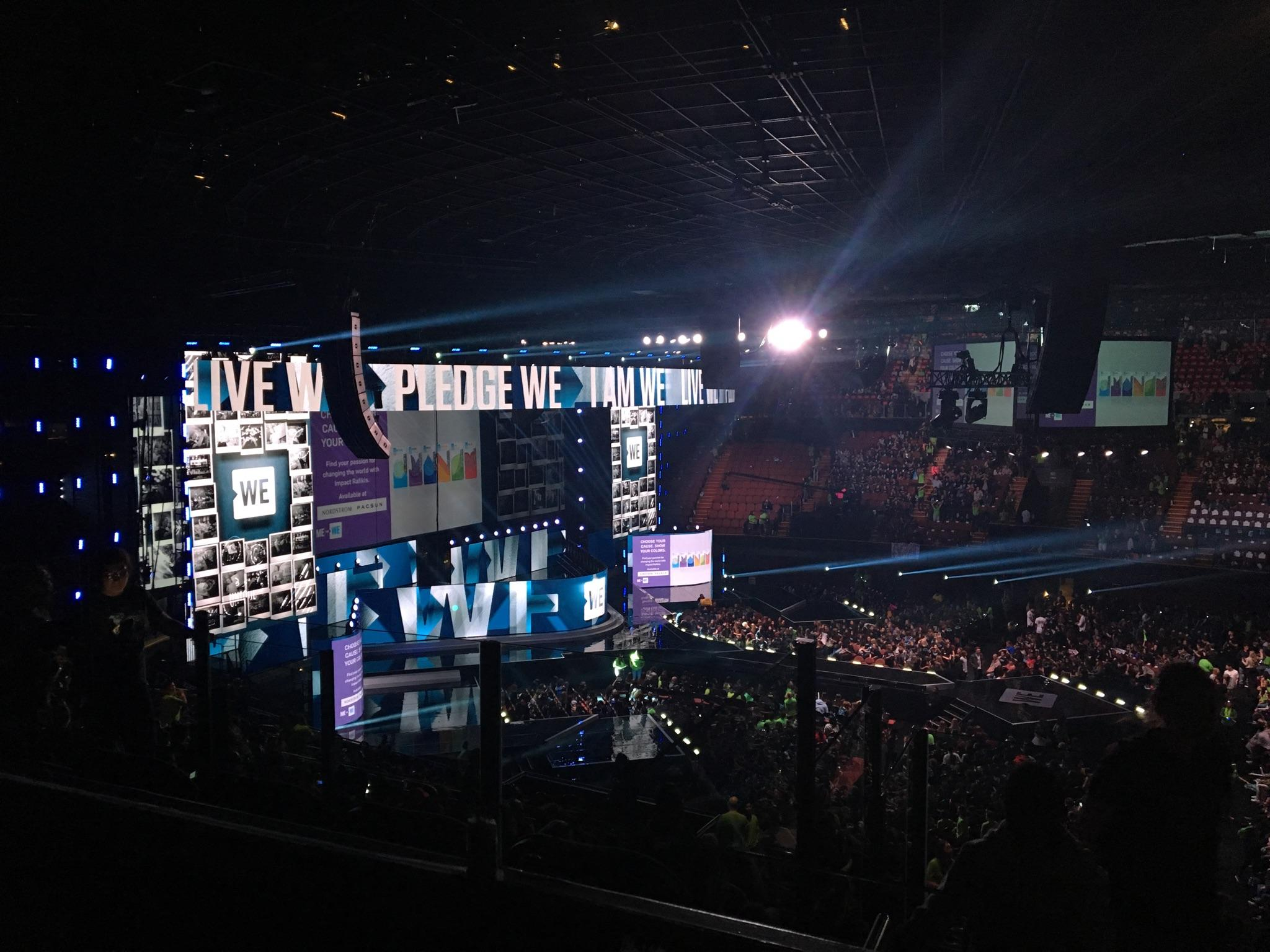 Interact members attend WE Day