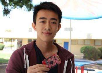 Phung cracks code, learns computer programming with Python at UCLA