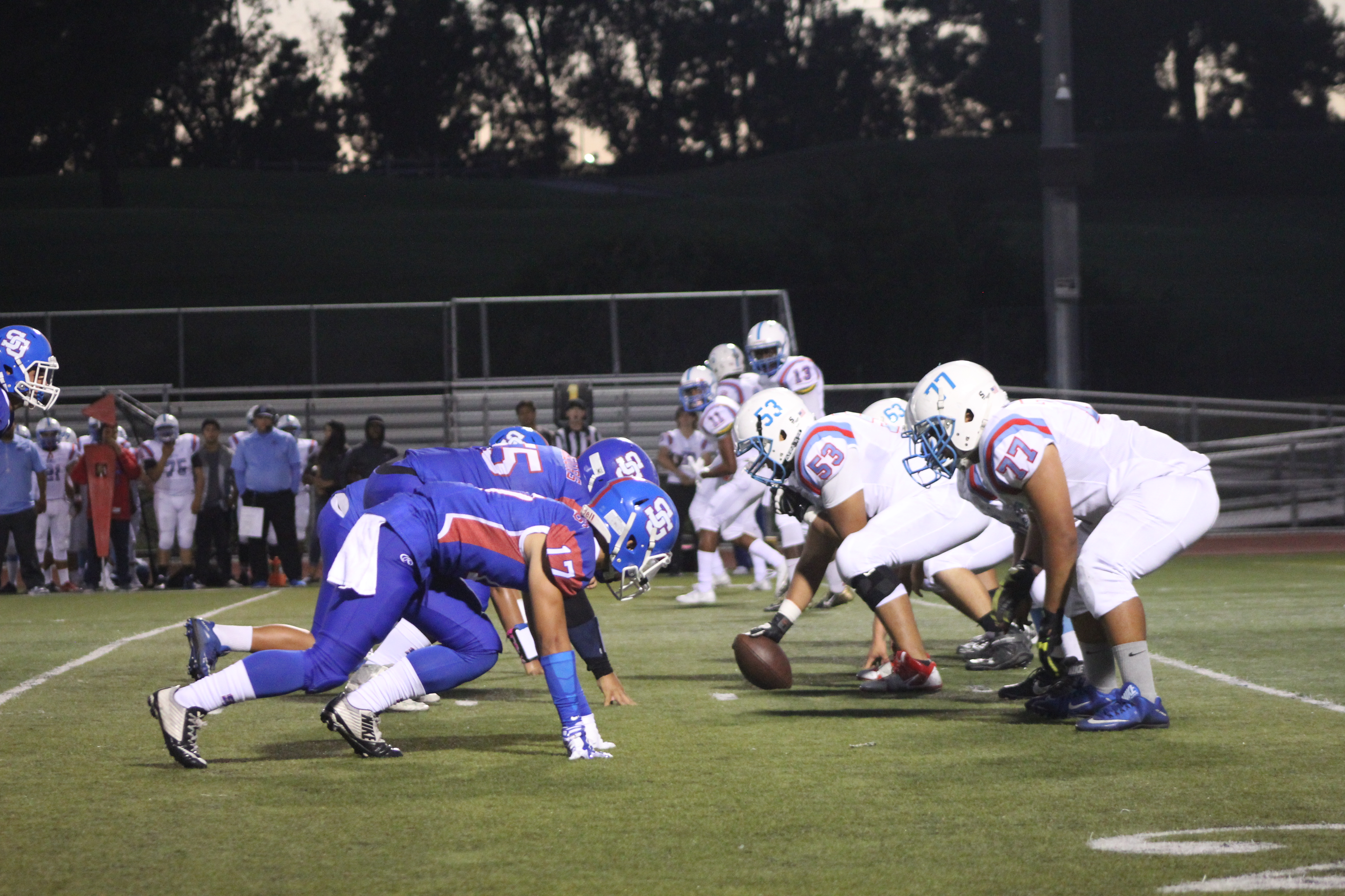 Varsity football team defeats Ganesha, earns redemption