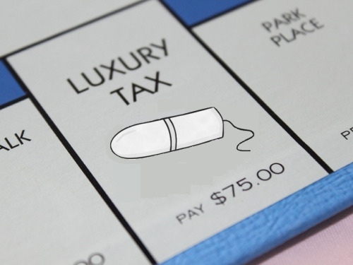 'Tampon tax' outlines burden put on females' wallets