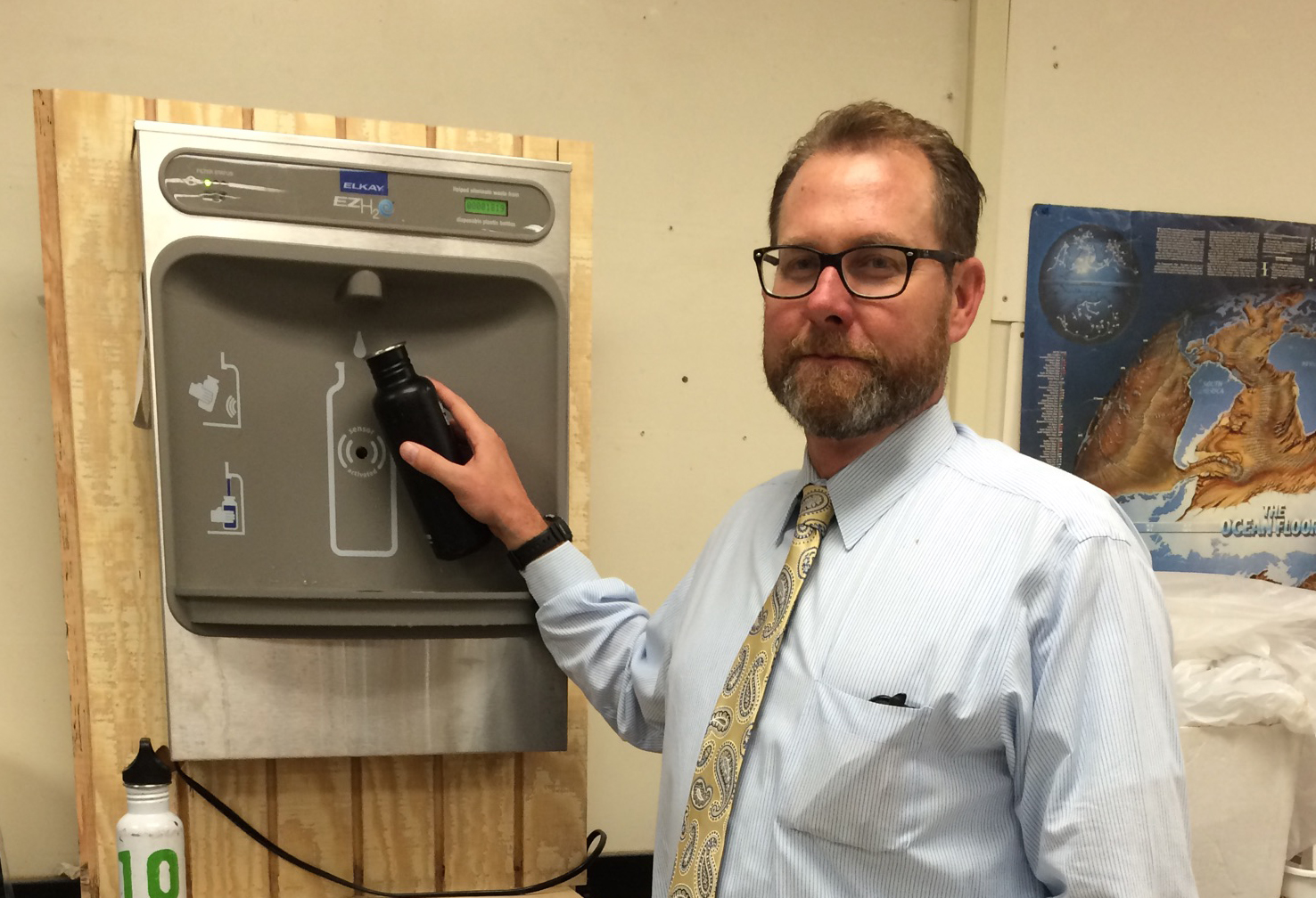 Whitman plans to expand water filter use