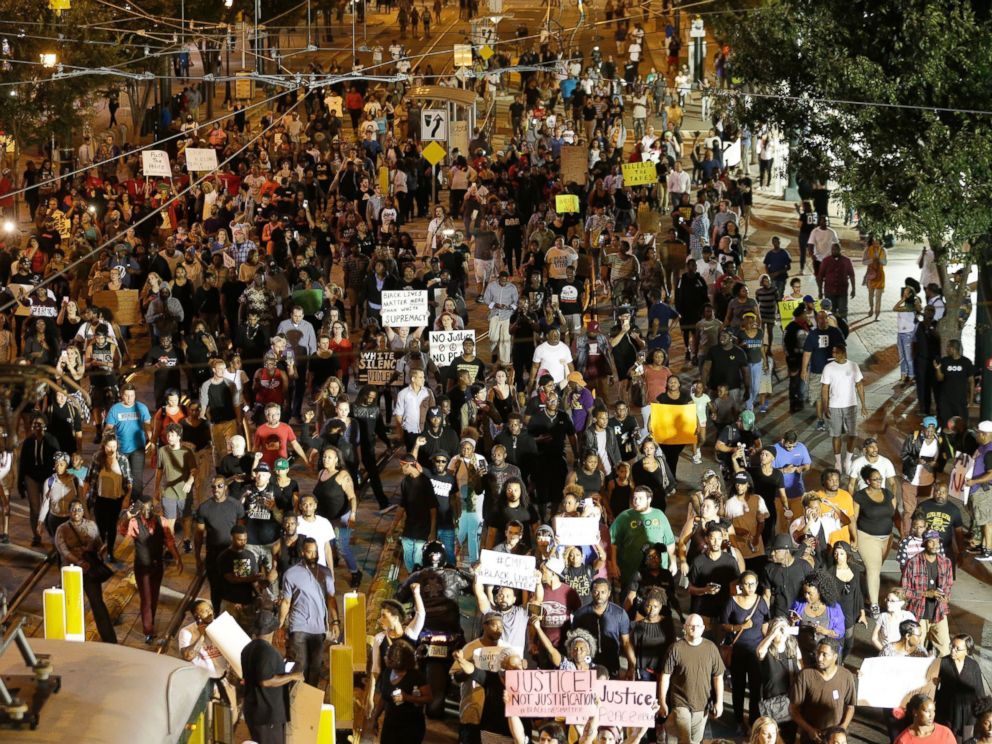 Increase of Black Lives Matter protests