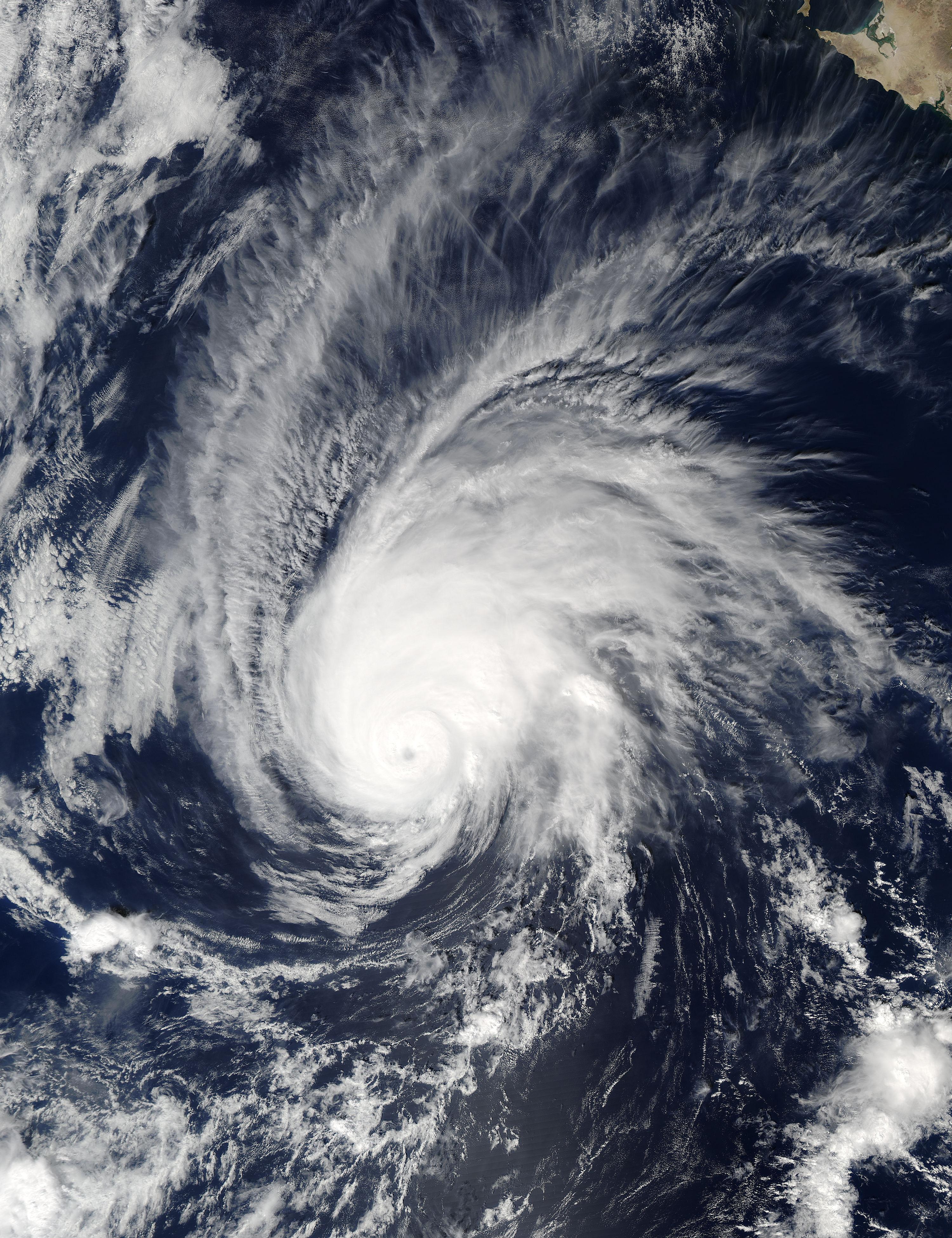 Hurricane Seymour brings much anticipated rain