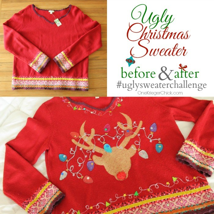 DIY: Ugly christmas sweaters