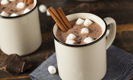 Simple hot chocolate recipe for cold days
