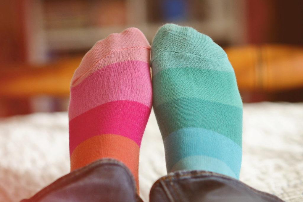 Lost, mismatched socks