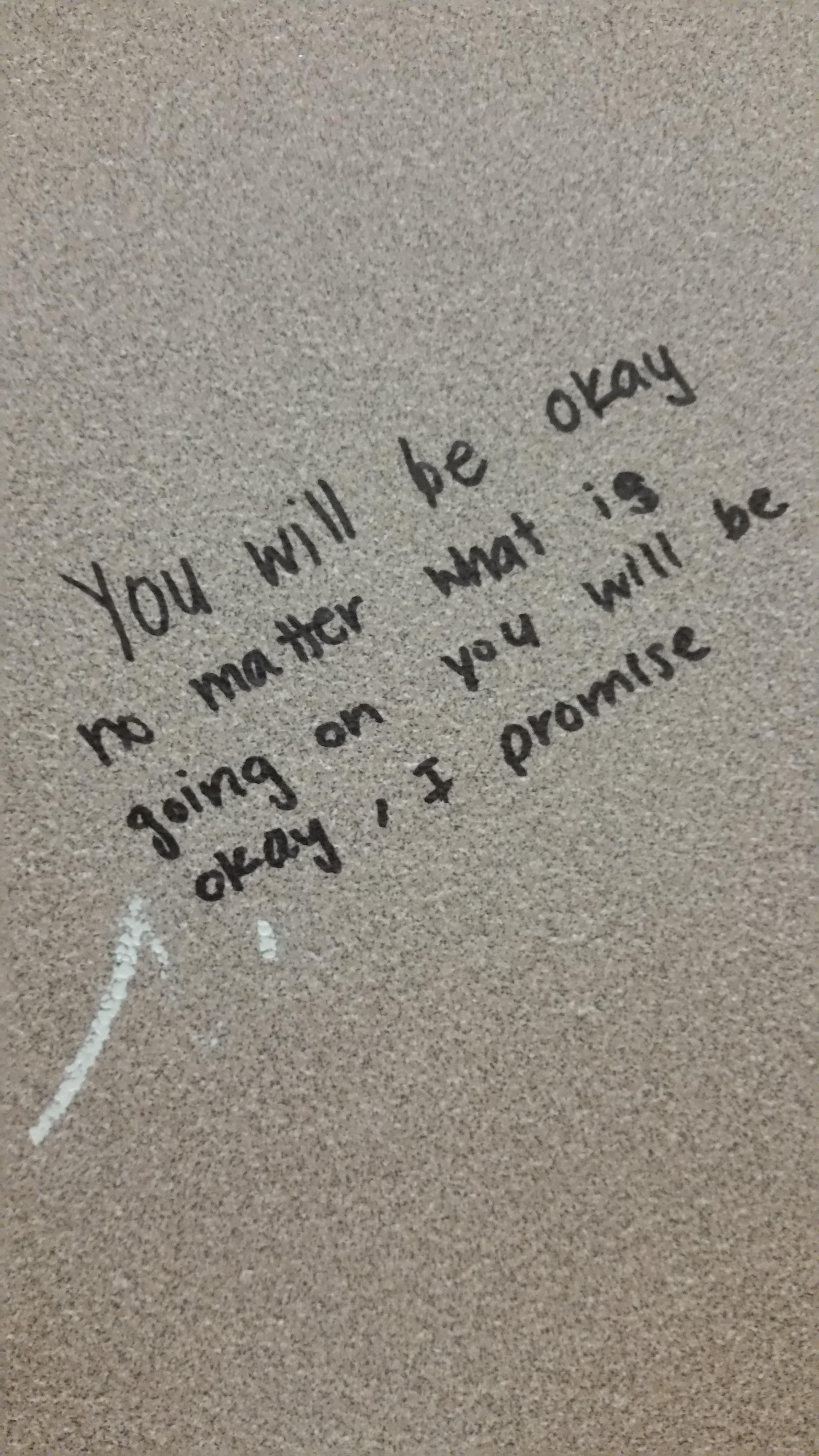 Graffiti in SG bathrooms brings positivity