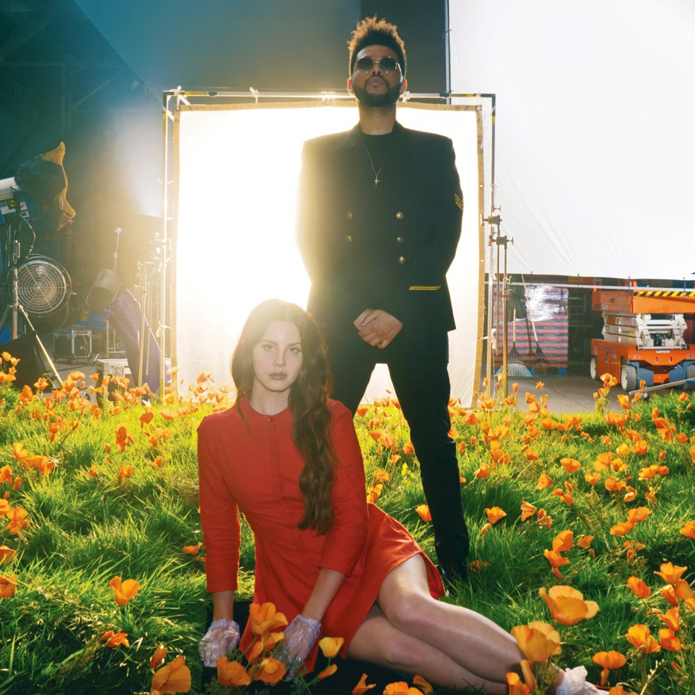 "Lana Del Rey, The Weeknd ""Lust for Life"""