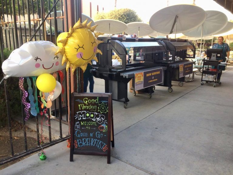 New Grab 'N' Go Breakfast provides convenience for students at San Gabriel High School