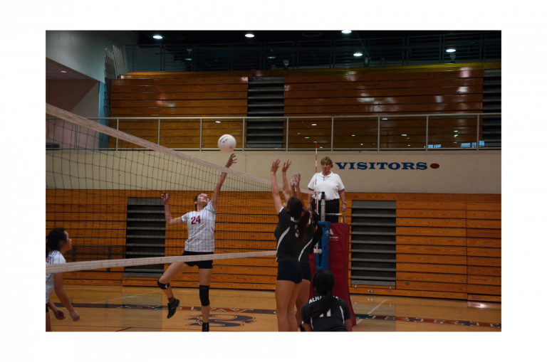 Girls volleyball win, advances on Alhambra Moors