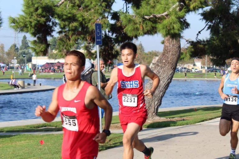 Athlete of the Month: Cross Country, Kevin Tang
