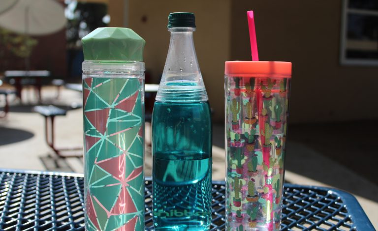 Reusable water bottle becoming a trend