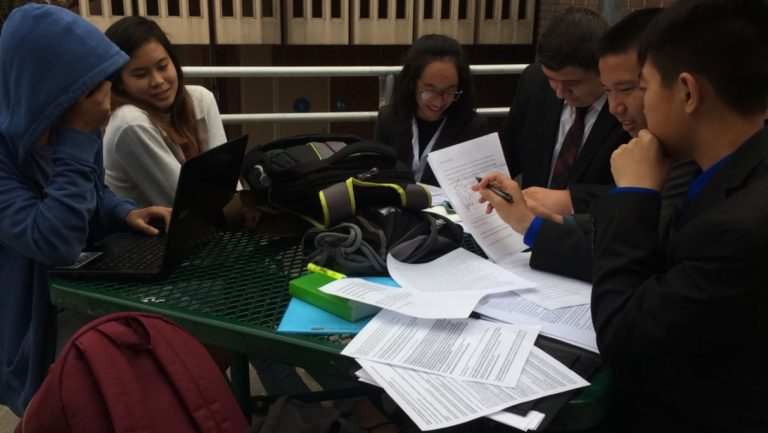Debate team competes at first invitational tournament