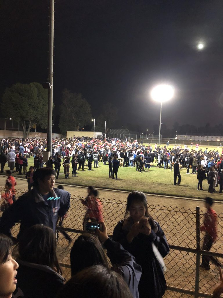 Mark Keppel goes under lockdown during homecoming game