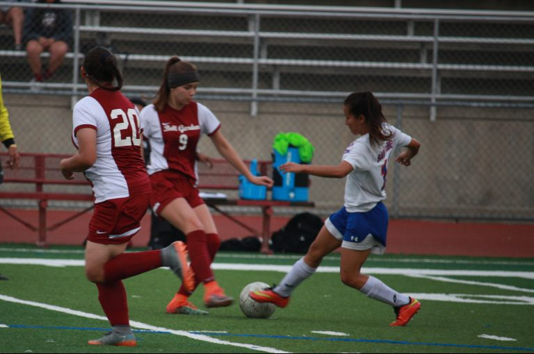 Girls varsity soccer face Bell Gardens, results in an early loss of the season