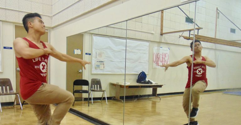 Truong displays passion through dance
