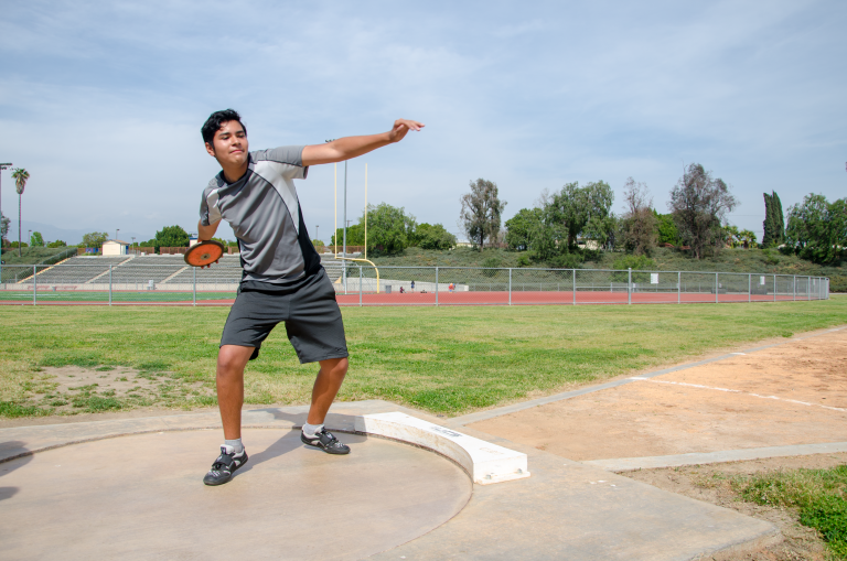 Twist and turn: 'throwing' appreciation for track and field