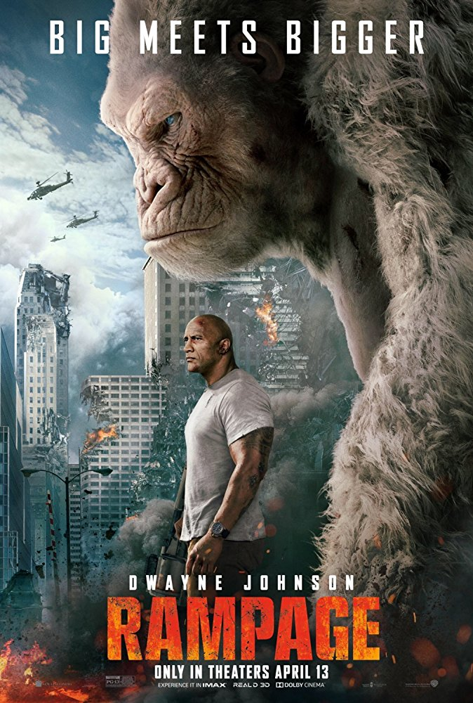 Movie review: Okoye and Caldwell set out to save city in Rampage
