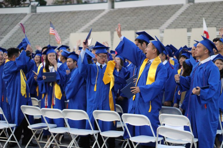 Class of 2018 graduates, bids farewell to SGHS