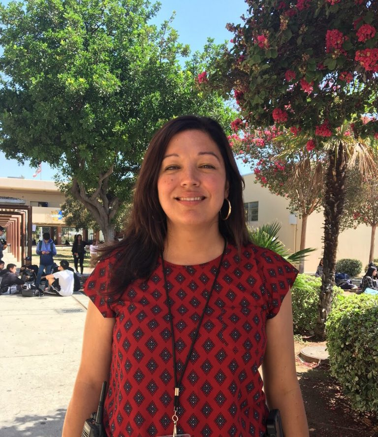 New Business and Activities Assistant Principal Diana Diaz-Ferguson