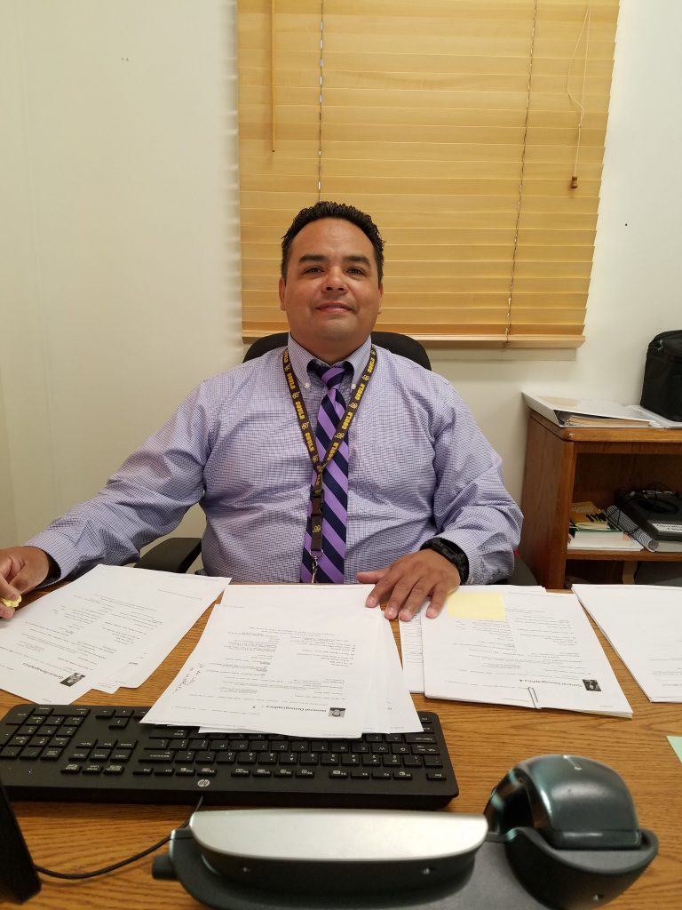 Jesse Toribio: Assistant Principal of Student and Employee Welfare