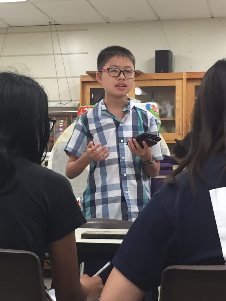 Tran creates robotics club, seeks to recruit members