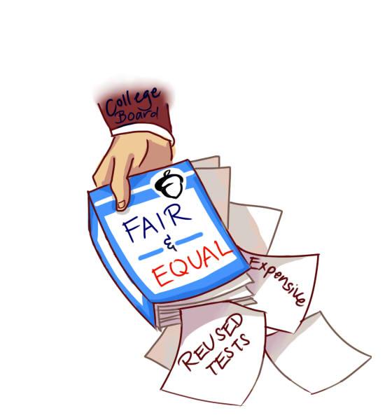 College Board fails to deliver fair services
