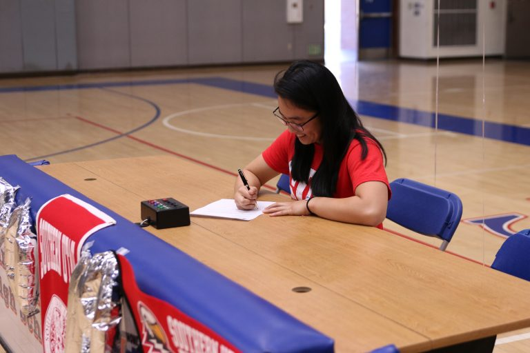 Kho signs with Southern Utah University for gymnastics