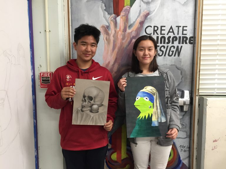 Spring Art Gallery draws in student artists
