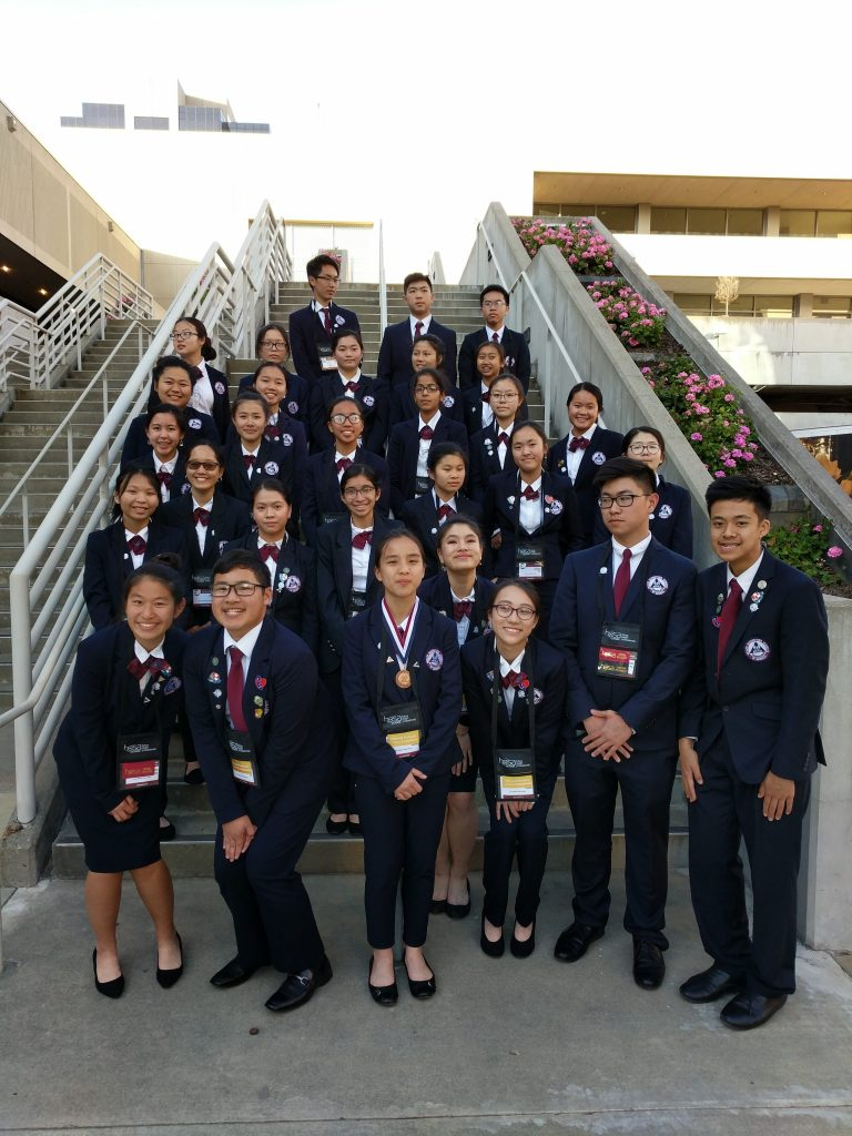 HOSA earns recognition in Sacramento