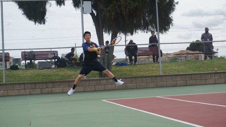 Tennis confronted at match point, suffers first loss of league