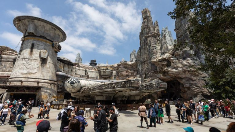 Star Wars Land immerses guests in new planet