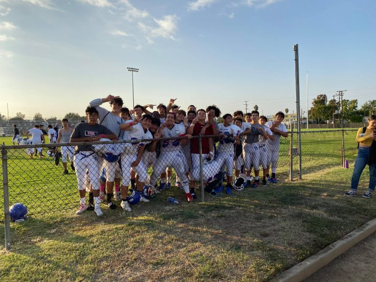 Freshman football sweeps competition, wins tournament