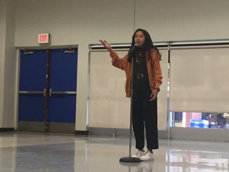 Poetry Out Loud inspires newfound courage