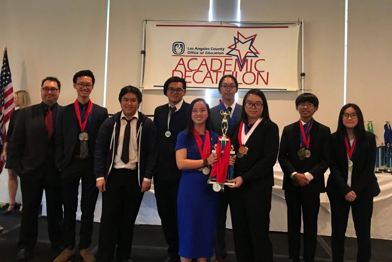 Academic Decathlon places highest in years